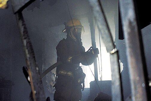 Fire destroys house in West Crossett