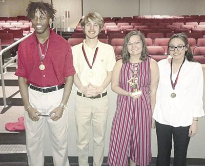 CHS Forensics team competes, brings back awards