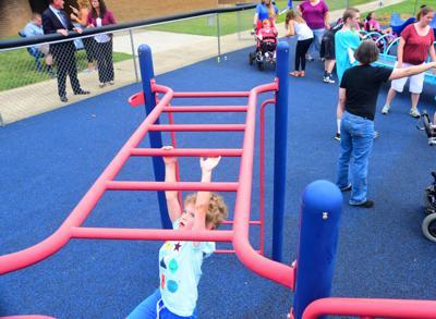 Monkeying around on the playground