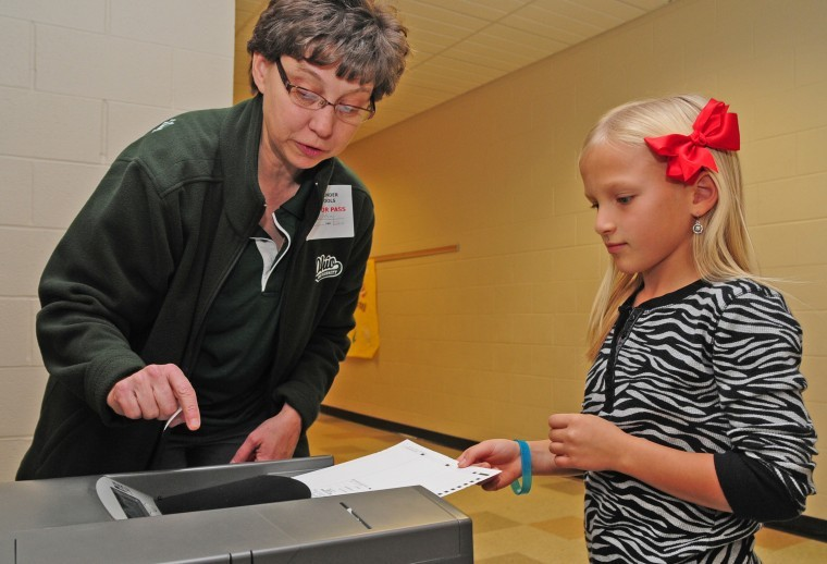 Mock election teaches Alexander students the voting ...