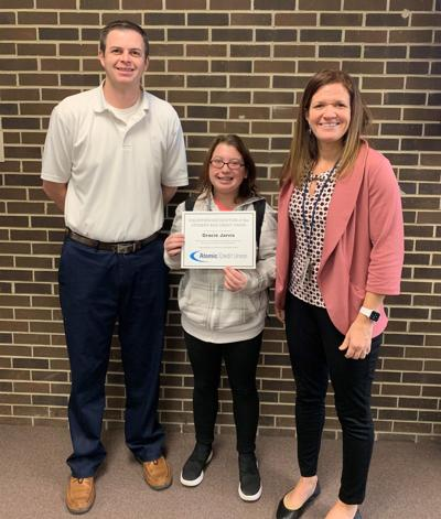 Jarvis is Atomic Credit Union volunteer of month