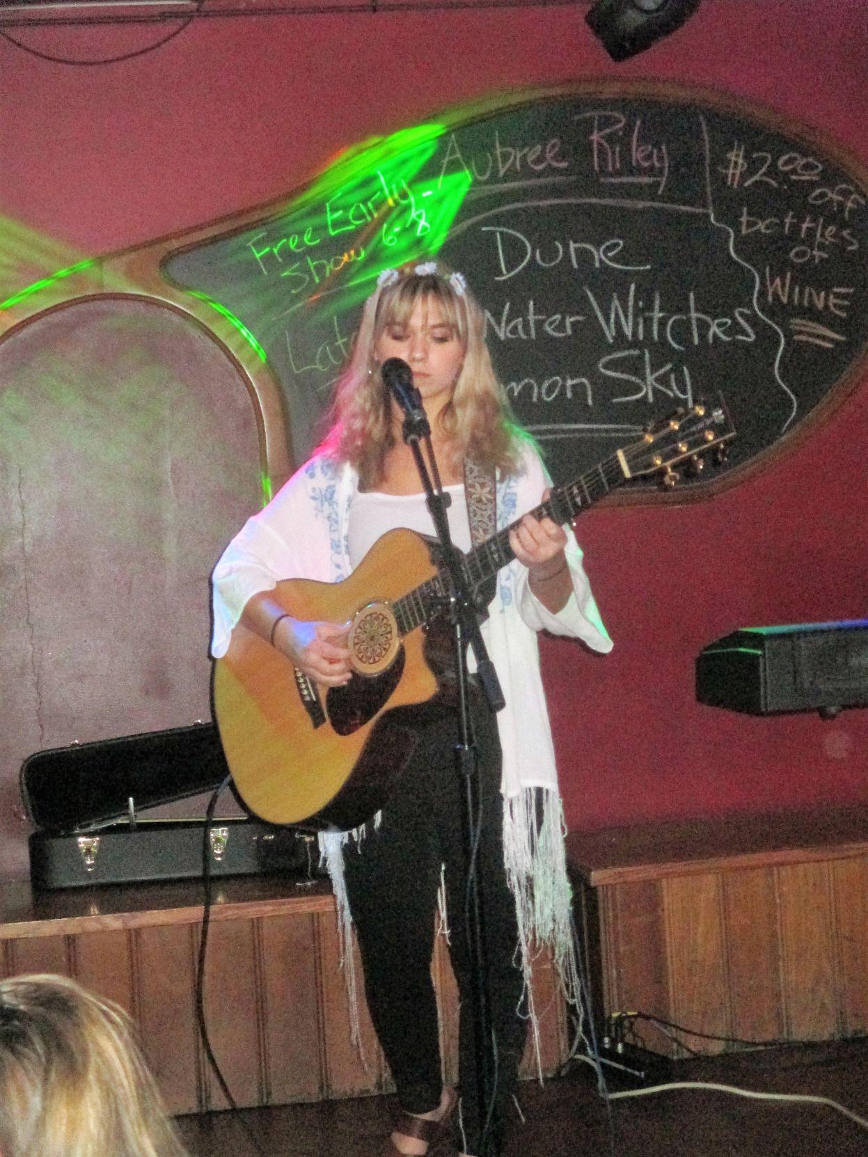 Aubree Riley performs May 11 at the Casa Cantina