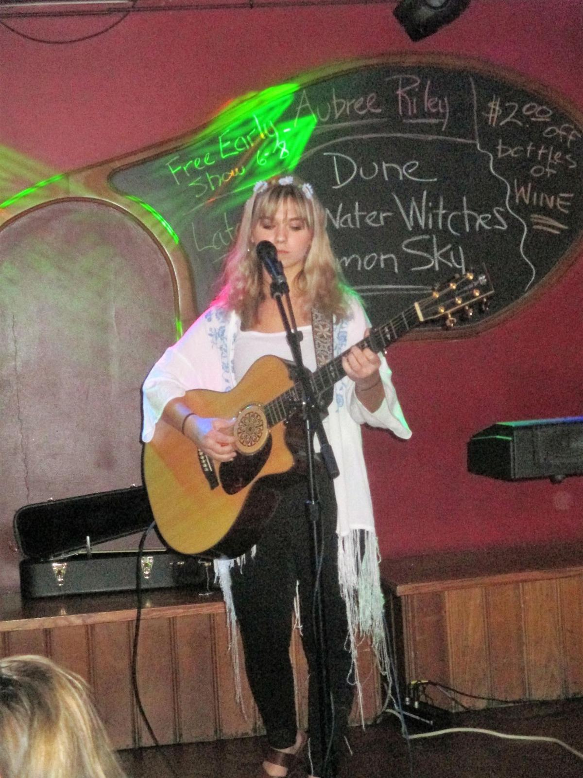 Aubree Riley performs May 11 at the Casa Cantina