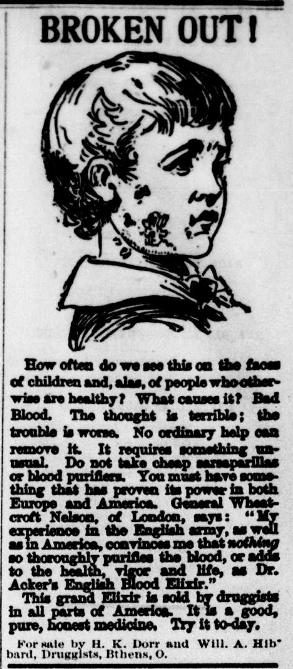 Advertisement: Thursday, Sept. 11, 1890