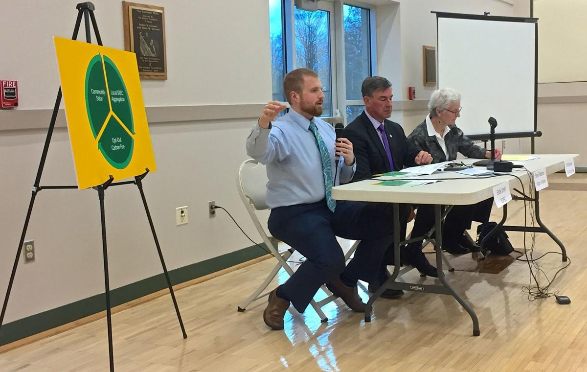 Carbon fee town hall