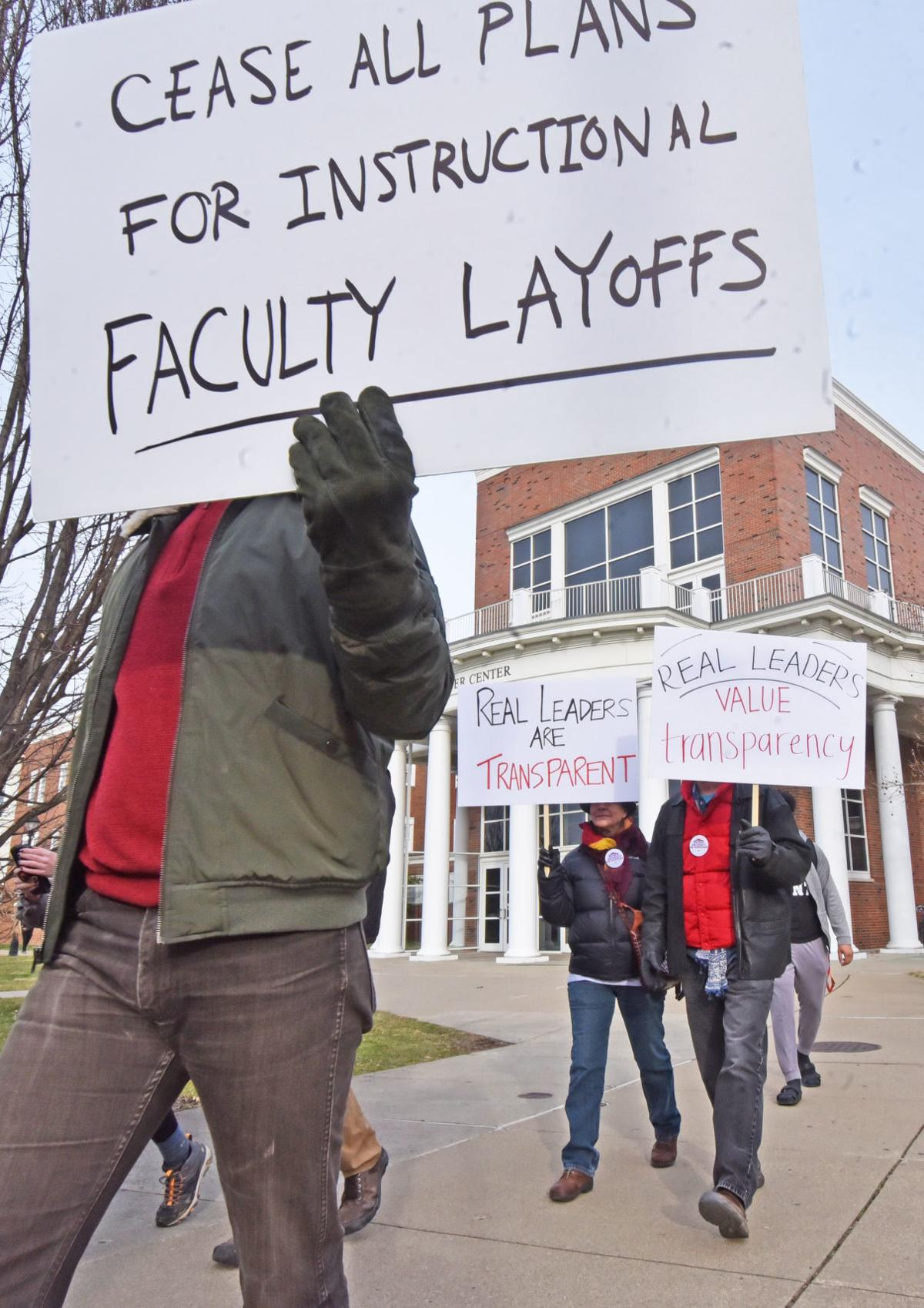 Board of Trustees Protest