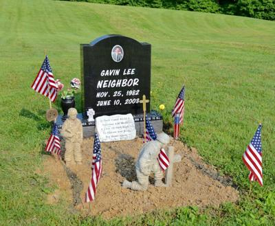 Soldier's gravesite