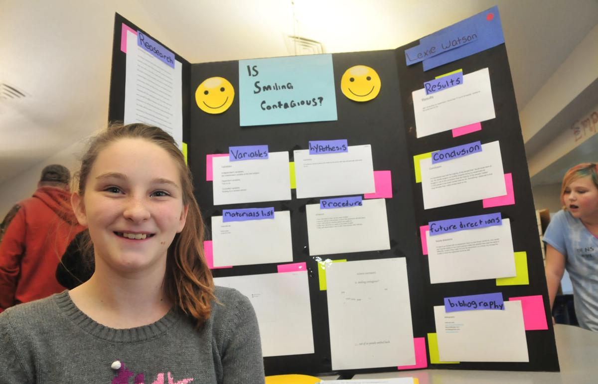 West Elementary students show off science fair projects ...