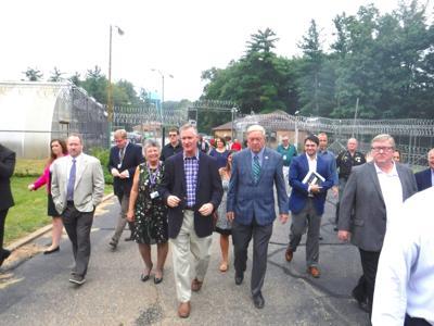 Tour highlights progress made at former prison site | News