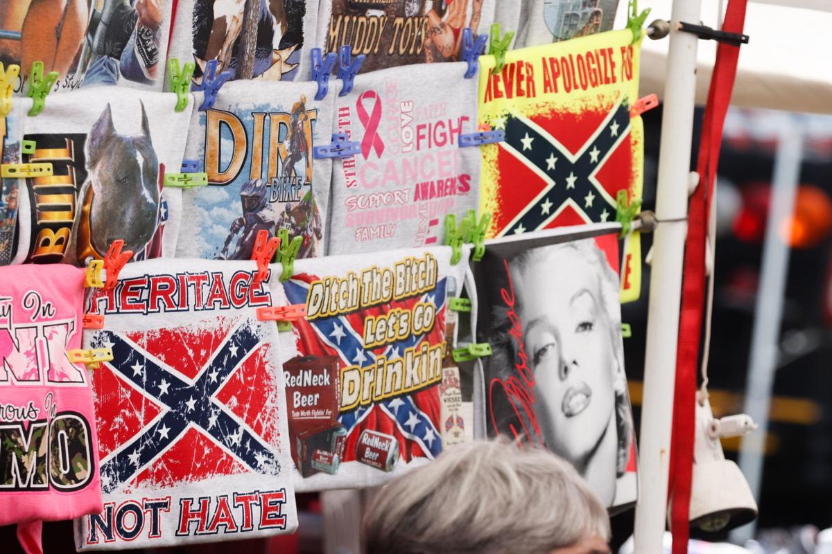 Confederate flag merchandise
