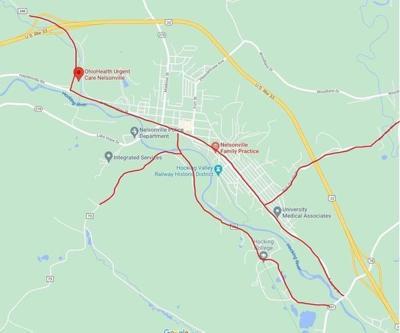 ATV route map Nelsonville