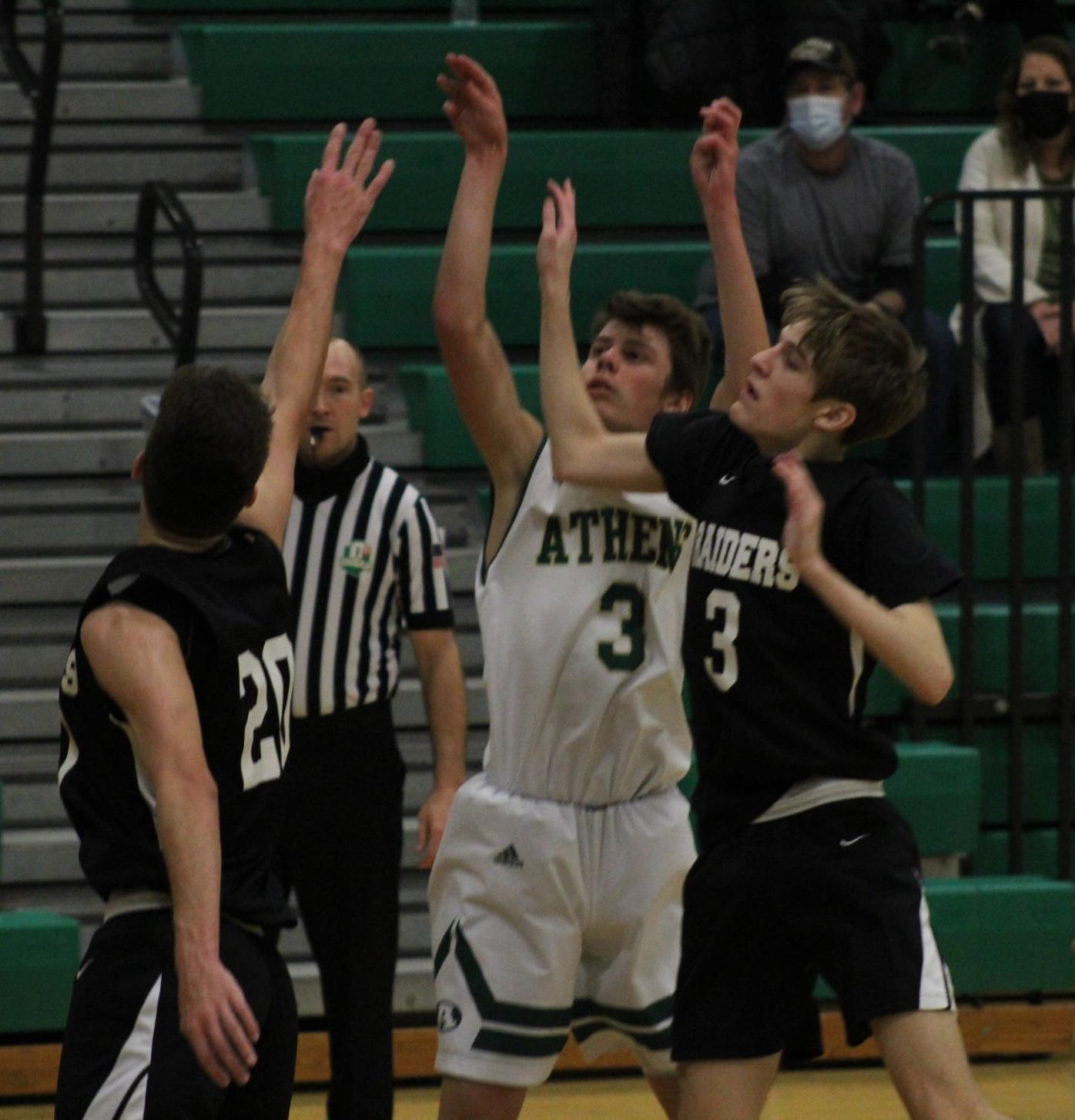 Athens 75, River Valley 36