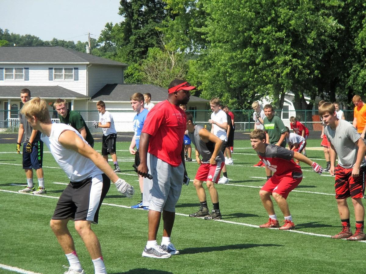 Talented cast of athletes, including local standout, instruct youth