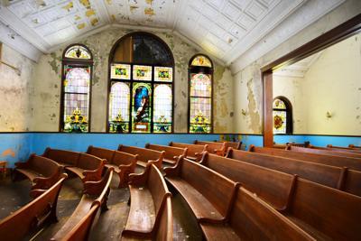 Inside Mt. Zion Church