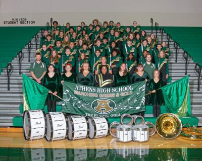 2021 Athens High School Marching Green and Gold
