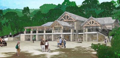 Rendering of Hocking Hills Visitors Center