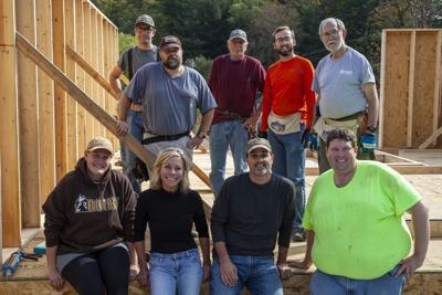 Rocky Brands Habitat for Humanity build