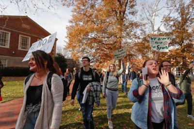 Rally for faculty