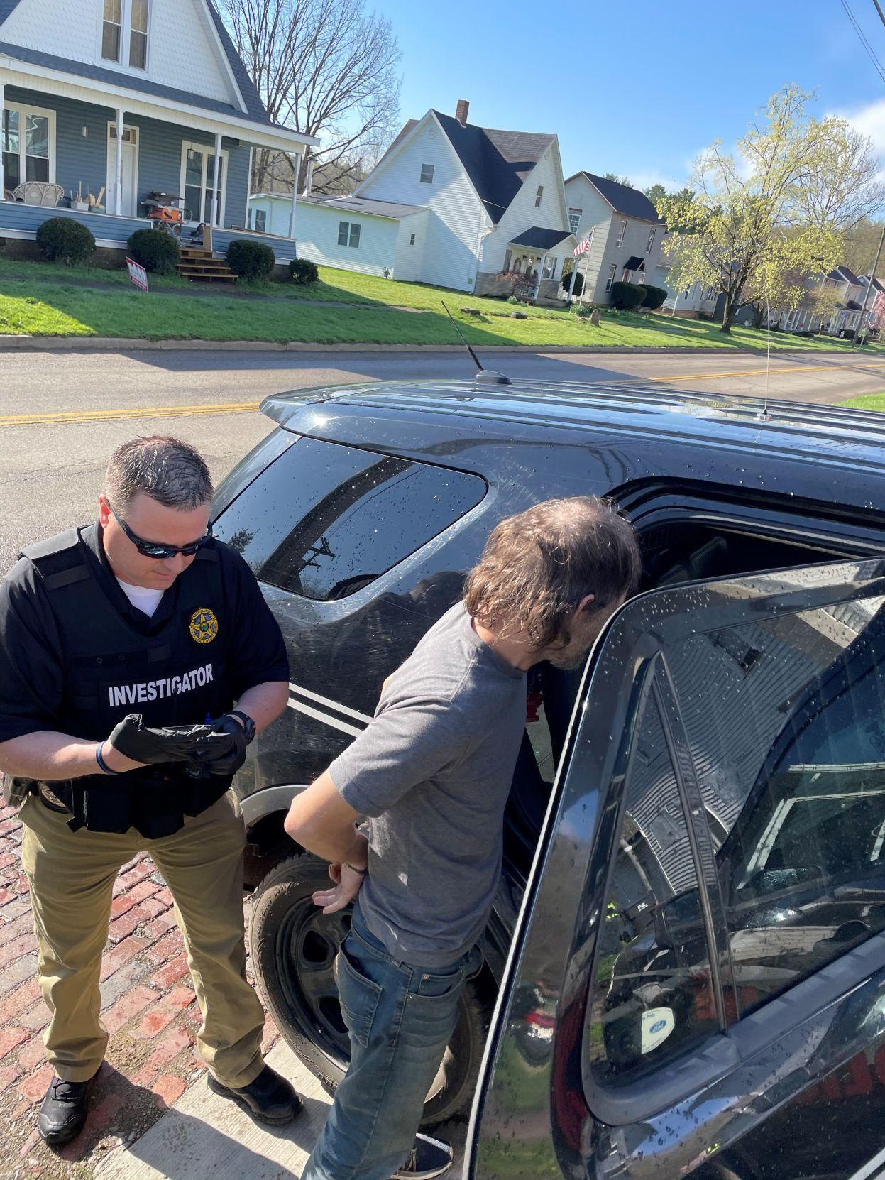 Roger Rutter arrested
