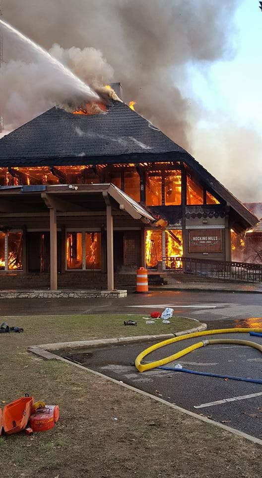 Fire Destroys Hocking Hills Dining Lodge