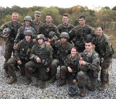 Ohio University Army ROTC places third at regional competition