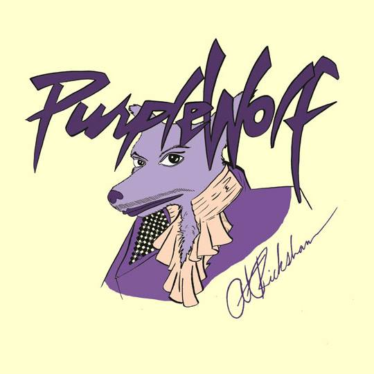 Purple Wolf at Rickshaw