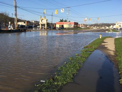 East State Street flood