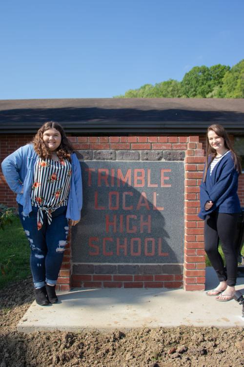 Best friends graduate at top of Trimble class   News