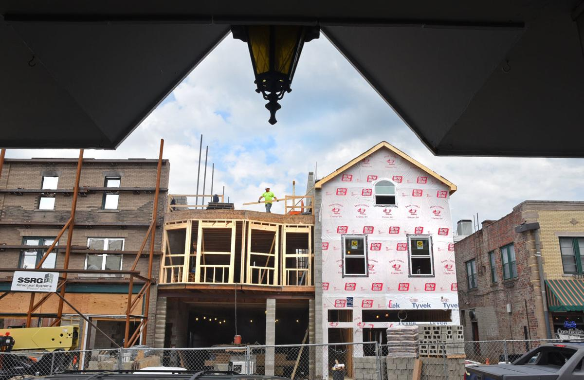 Union Street progress