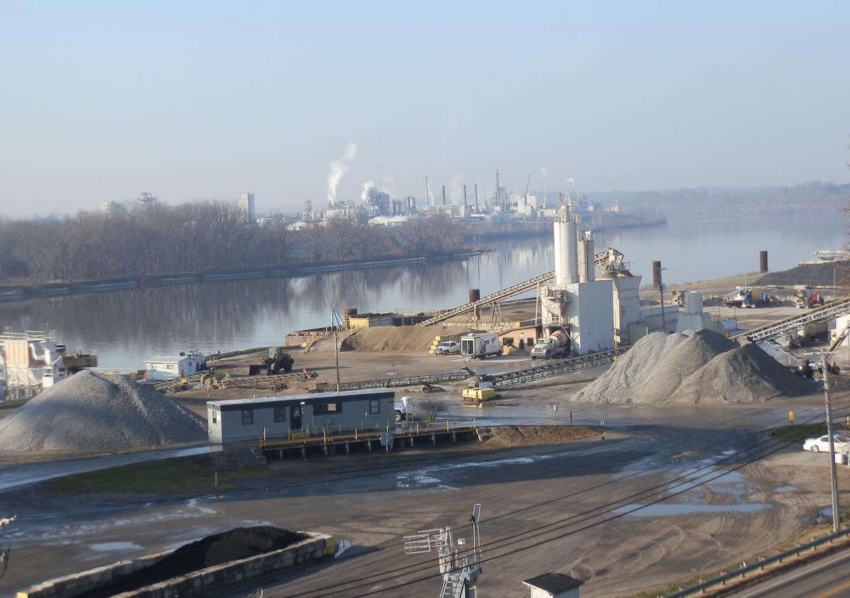 industrial parkersburg - cracker site