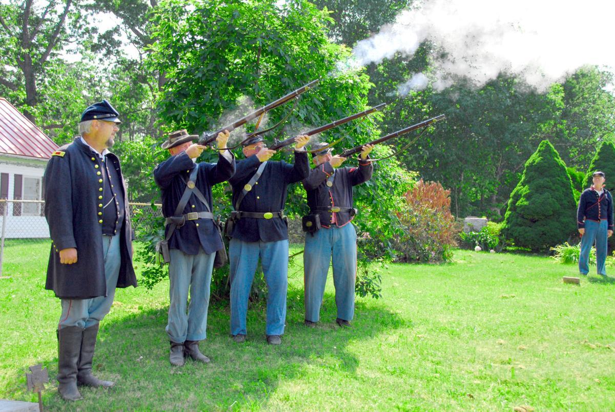 Civil War salute