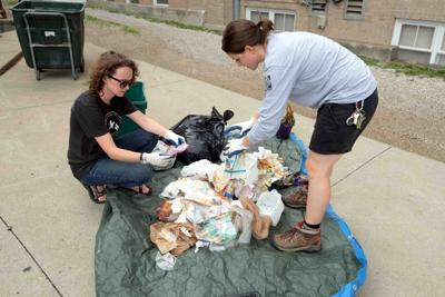 Dumpster diving for zero waste