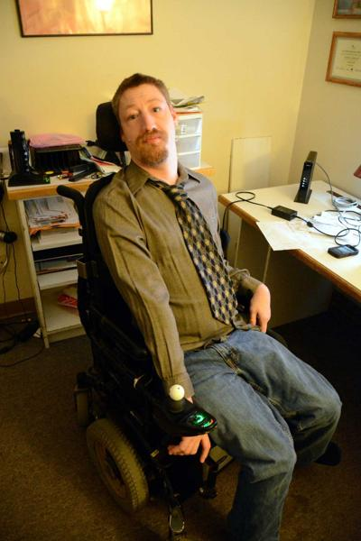 Local man with cerebral palsy seeks to make Athens more accessible