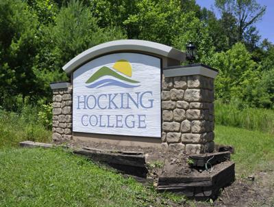 Hocking College sign