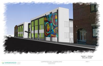 Carpenter Hall new design sketch