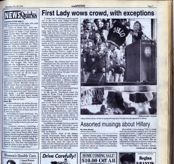 HRC 1996 Hillary