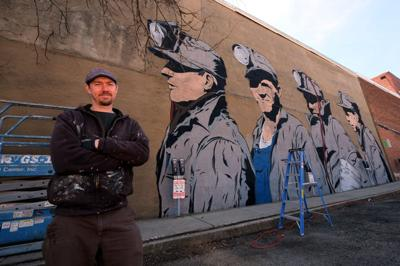 Uptown Athens mural honors region's mining past
