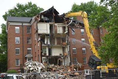 Smith House razing - South Green