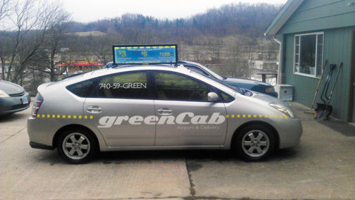 Green Cab Athens Ohio >> Cab Company Beer Distributor Join Forces To Help Reduce