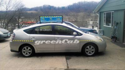 Green Cab Athens Ohio >> Cab Company Beer Distributor Join Forces To Help Reduce Drunk
