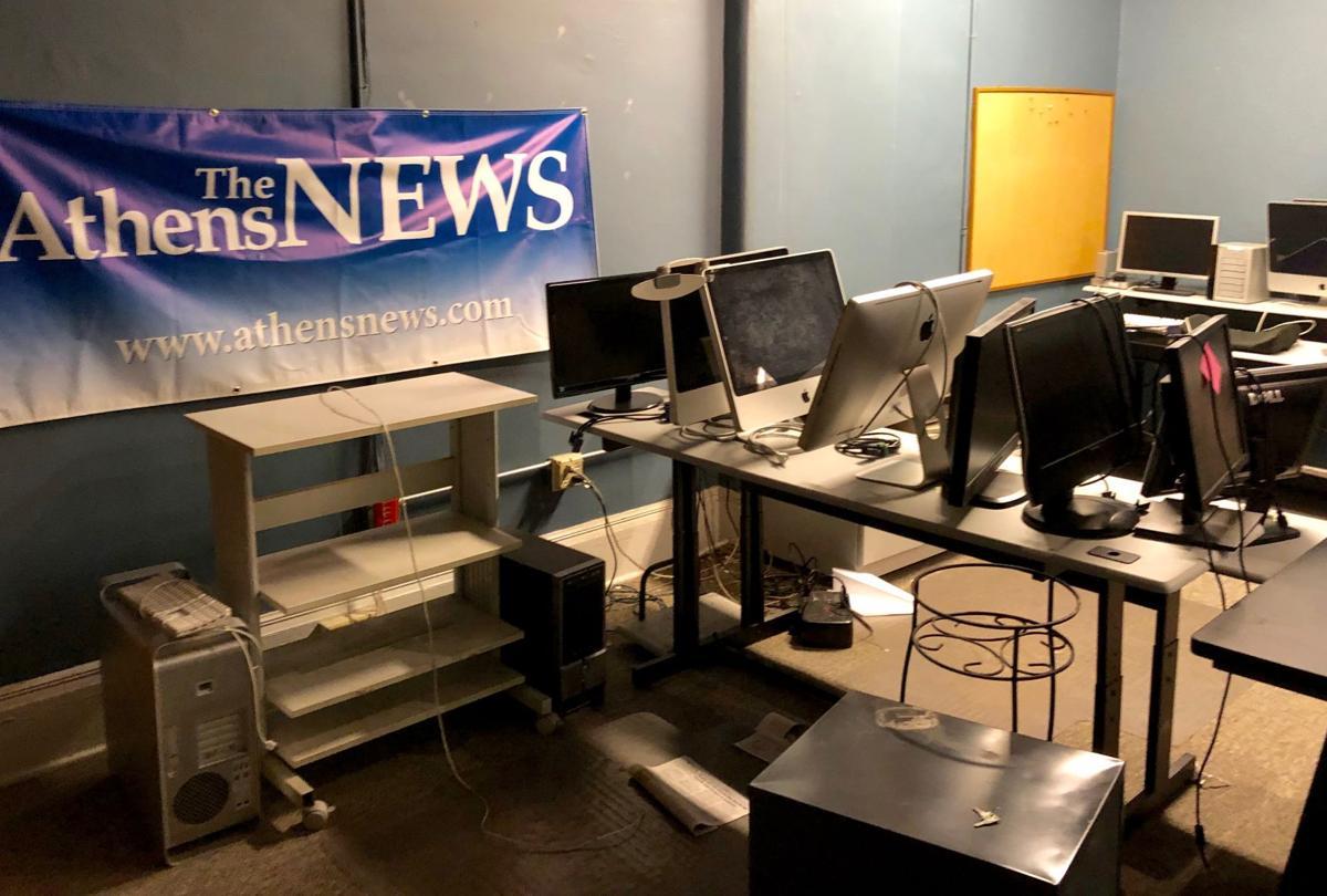 A-News graphics room