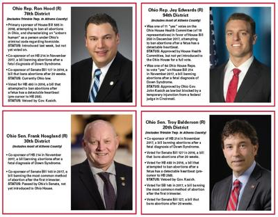 State reps against abortion