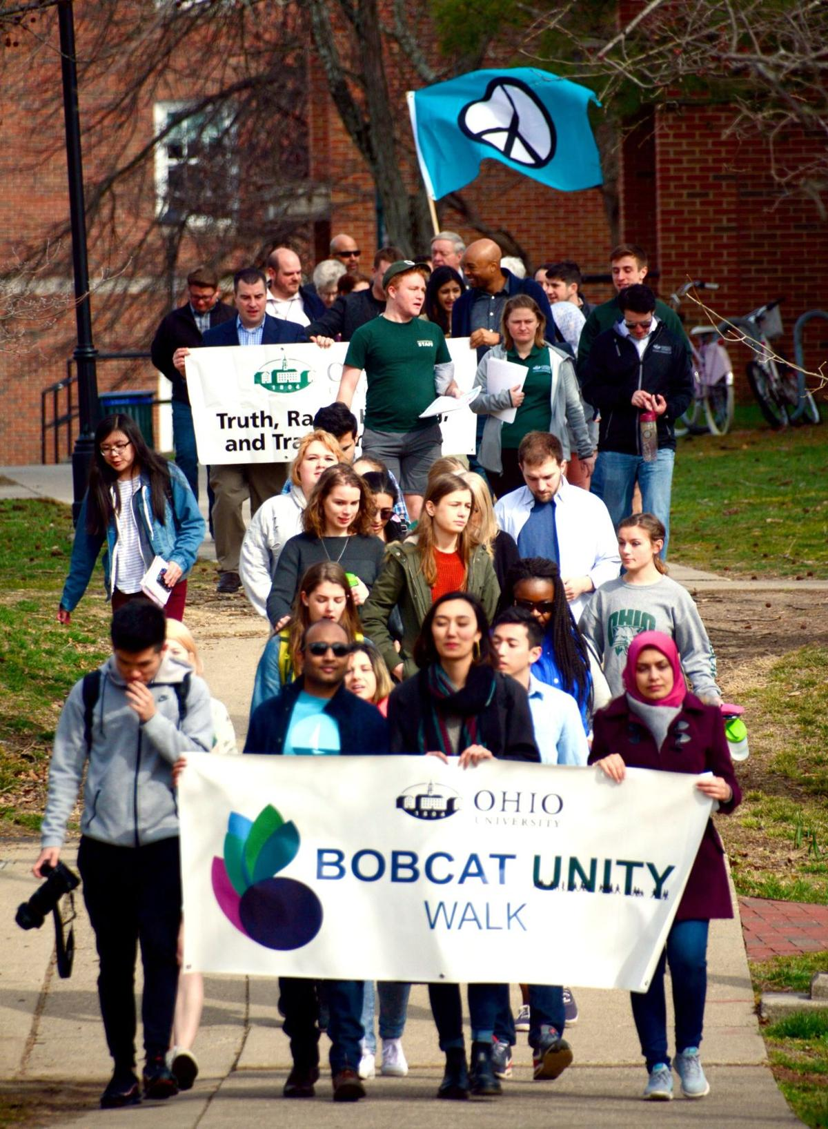 Unity\' walk brings together town & gown communities   Campus News ...