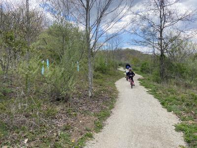 Baileys Trail System Bicyclists