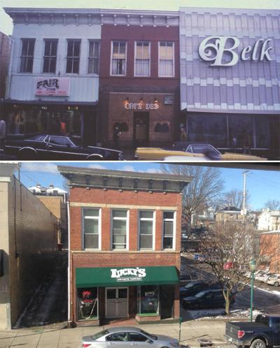 Uptown block has seen a lot of changes