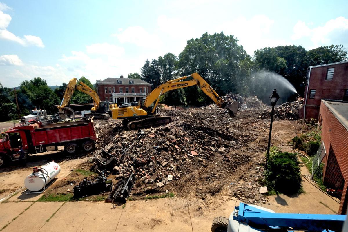building 20 - rubble ridges
