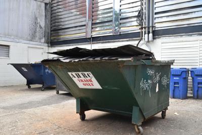 AHRC dumpsters