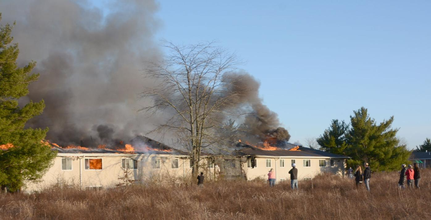 CARRIAGE hill fire 2 dep
