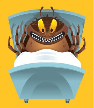 cockroaches and bedbugs and toxins, oh my! | special sections