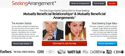seeking arrangements official site